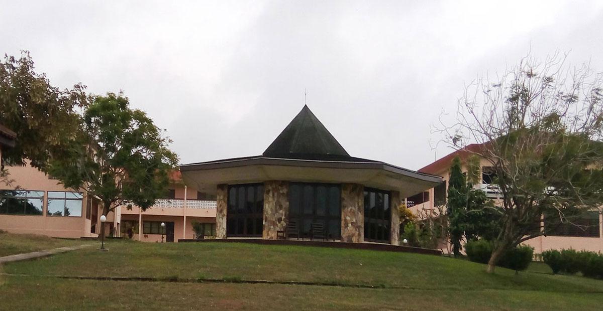chapel at the claver house jesuit retreat centre